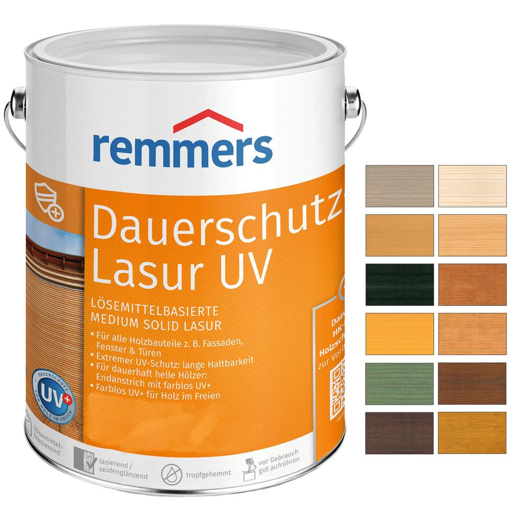 2 5 l remmers dauerschutz lasur uv eiche rustikal profi. Black Bedroom Furniture Sets. Home Design Ideas