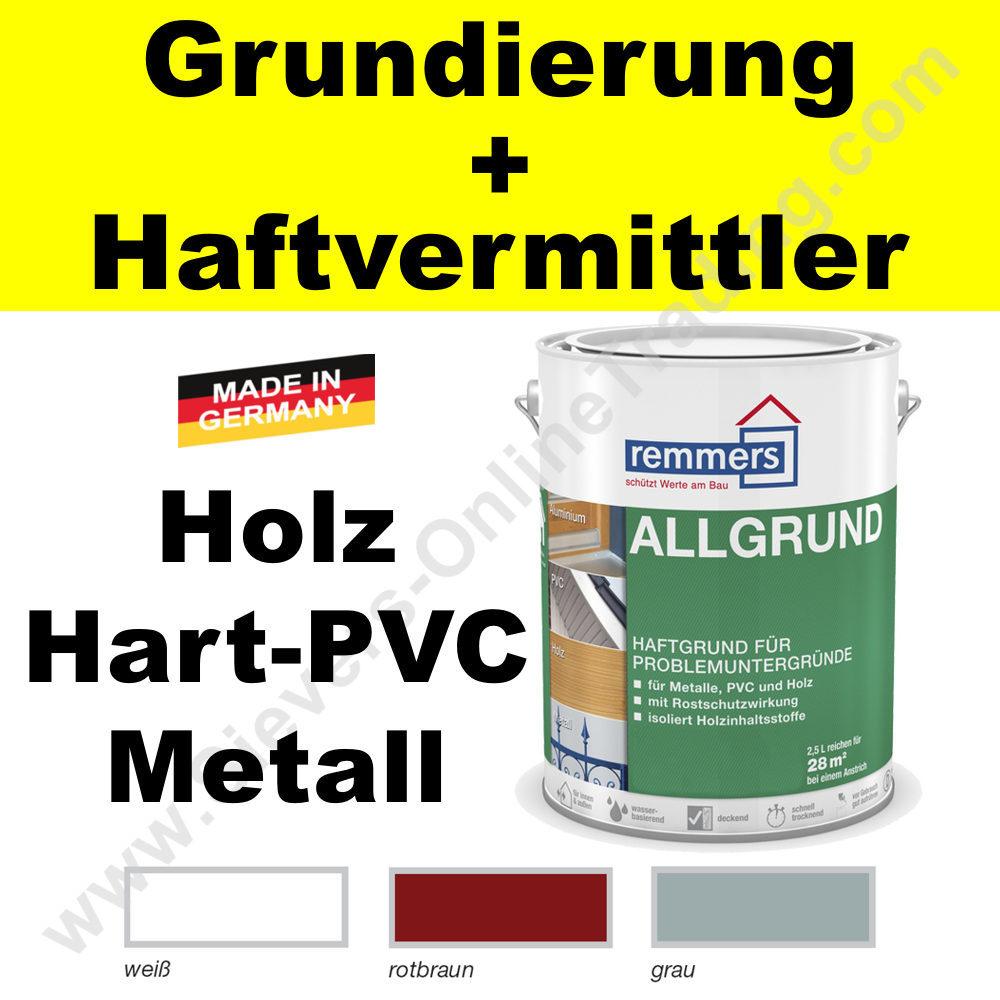remmers allgrund, grundierung für holz metall alu messing pvc