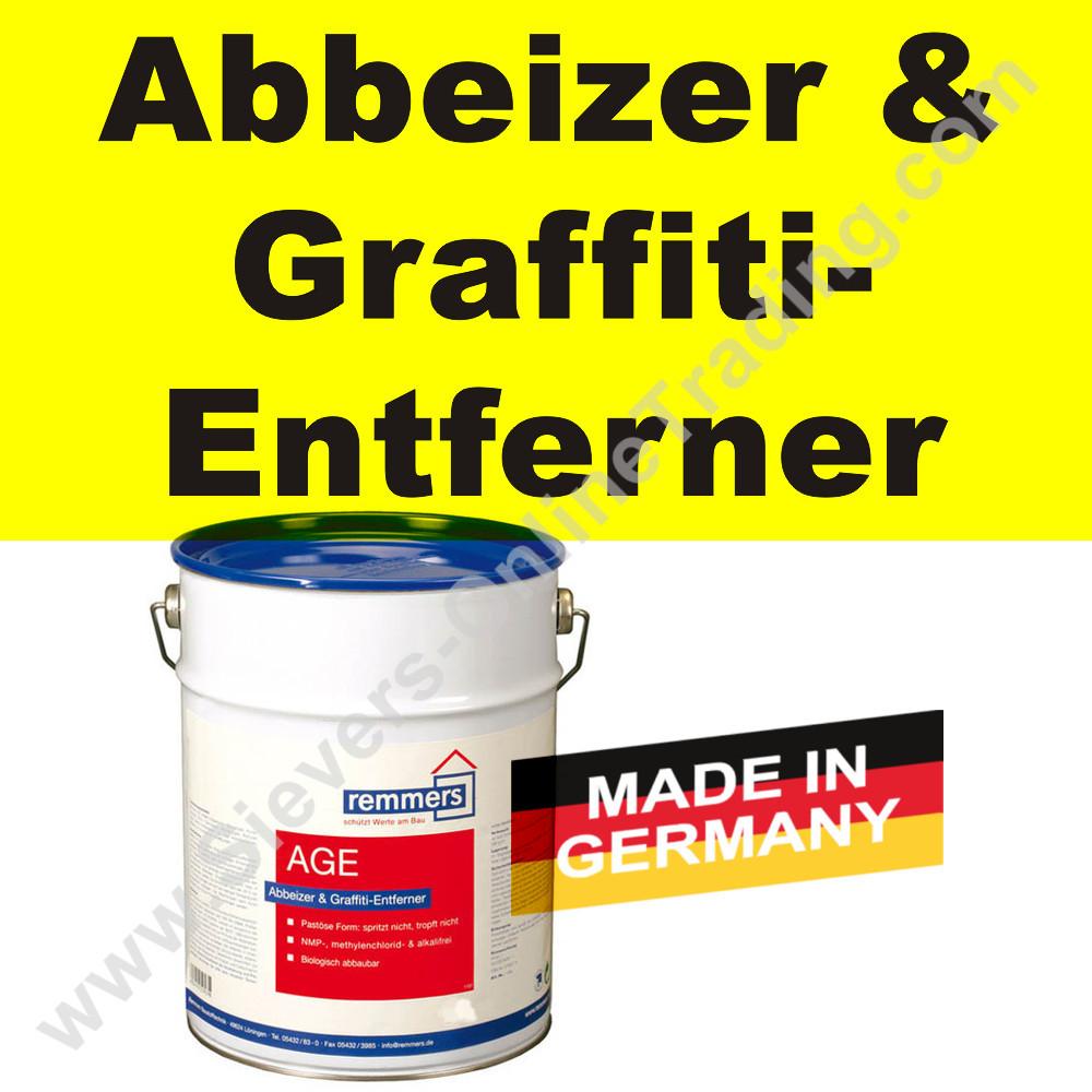 remmers age, abbeizer und graffiti-entferner auf holz metall usw.