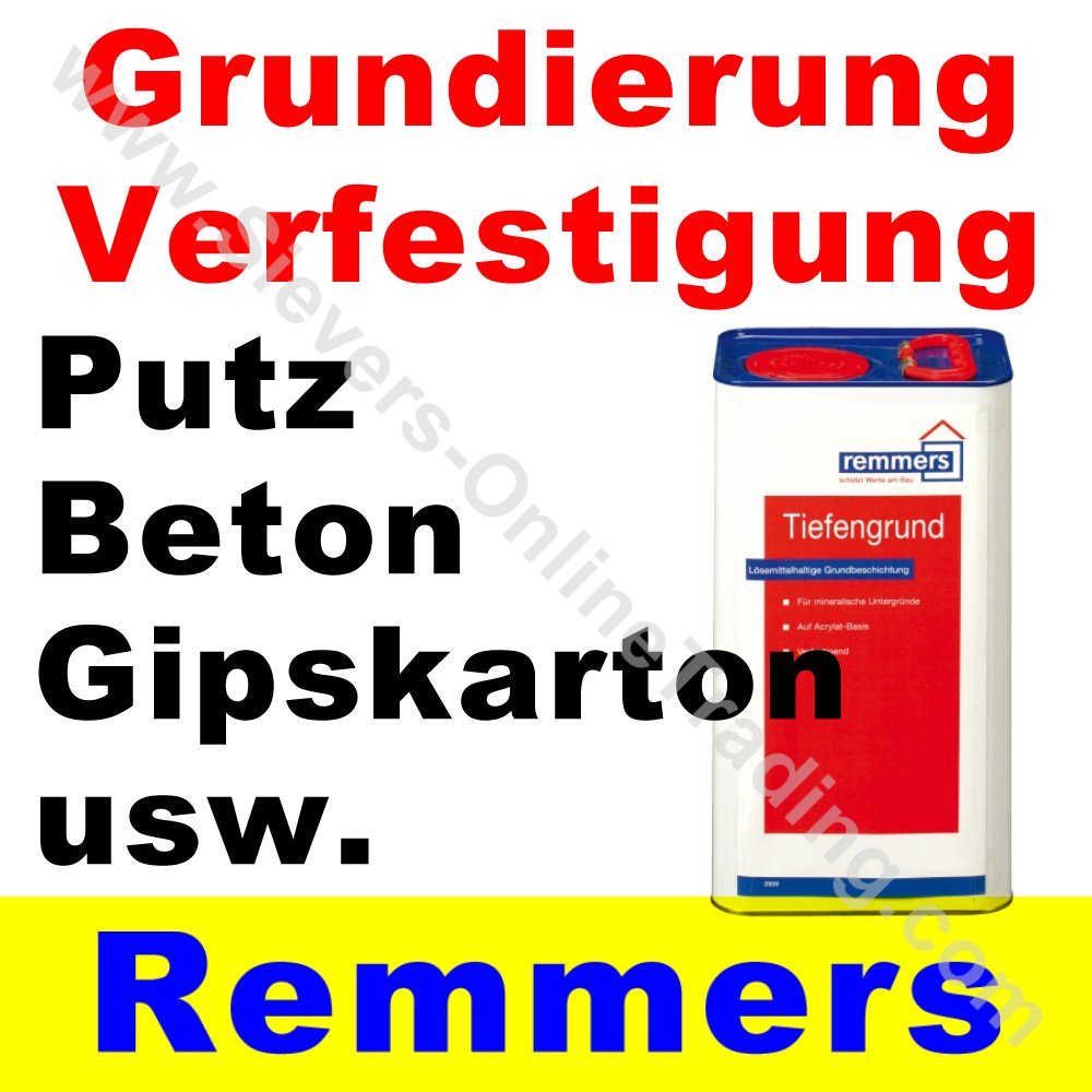 remmers primer f tiefengrund grundierung stein beton gips usw. Black Bedroom Furniture Sets. Home Design Ideas
