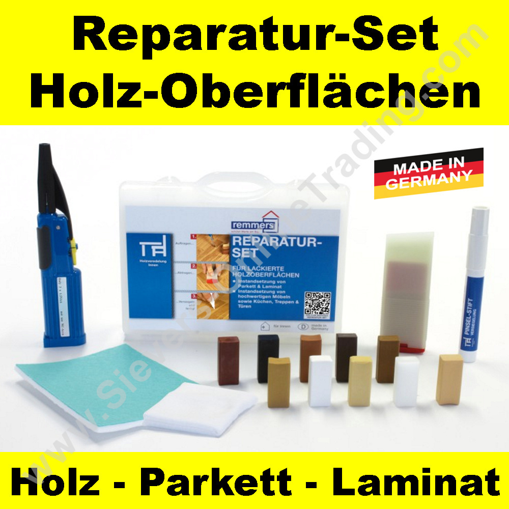 reparatur set f r holzoberfl chen treppen parkett m bel holzboden. Black Bedroom Furniture Sets. Home Design Ideas