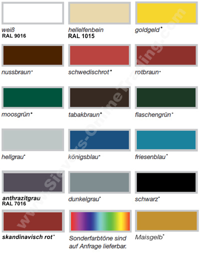 Relativ Remmers Deckfarbe, Holzfarbe Wetterschutzfarbe Farbe Innen Außen VK94